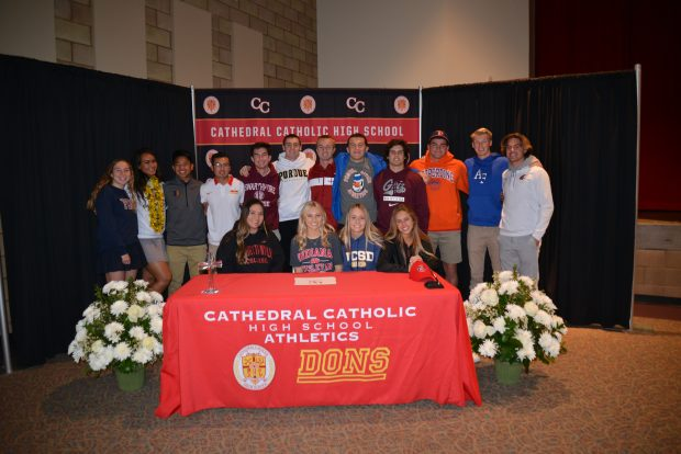 Class of 2019 Sign 16 for their NLI