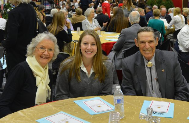 Grandparents' Day for Juniors and Sophomore