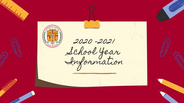 Information for the 2020-2021 School Year